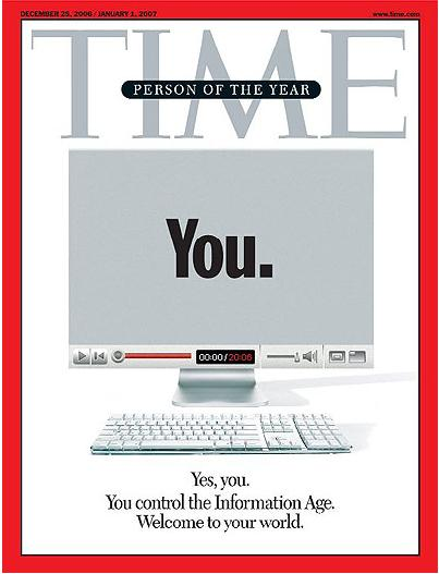 Person of the year: You